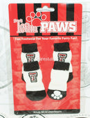 ONE PACK OF 4 DOG PET SOCKS - TEAM PAWS NCAA TEXAS TECH UNIVERSITY SMALL NEW