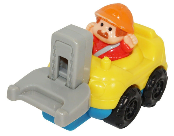 FISHER PRICE LITTLE PEOPLE FORKLIFT MCDONALDS TOY FIGURE W/ VEHICLE 2003 USED - EZ Monster Deals