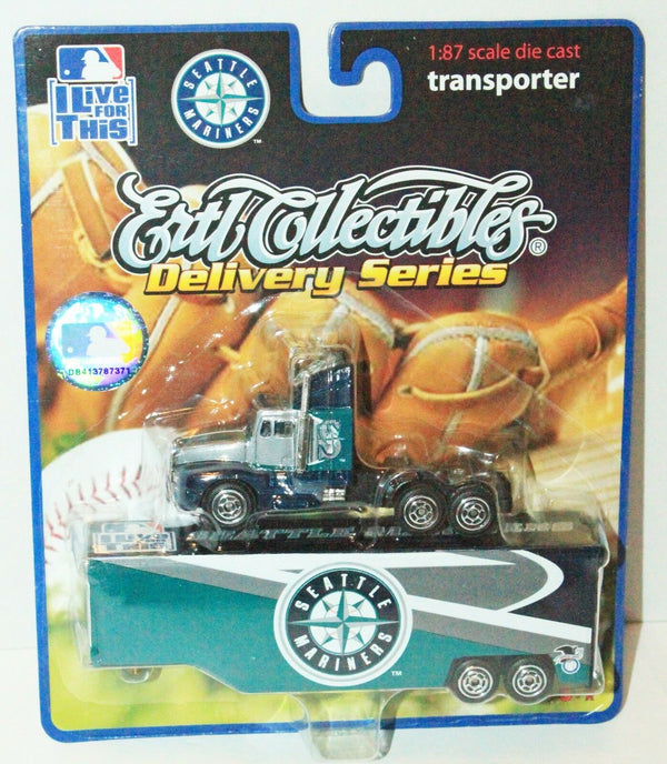 SEATTLE MARINERS 1:87 DIECAST - MLB BASEBALL TRUCK TRAILER TOY VEHICLE 2006 NEW - EZ Monster Deals