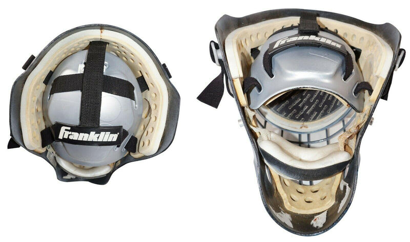 FRANKLIN SPORTS GFM 6000 GOALIE HELMET ICE HOCKEY - GOAL MASK S/M 2001 USED - EZ Monster Deals