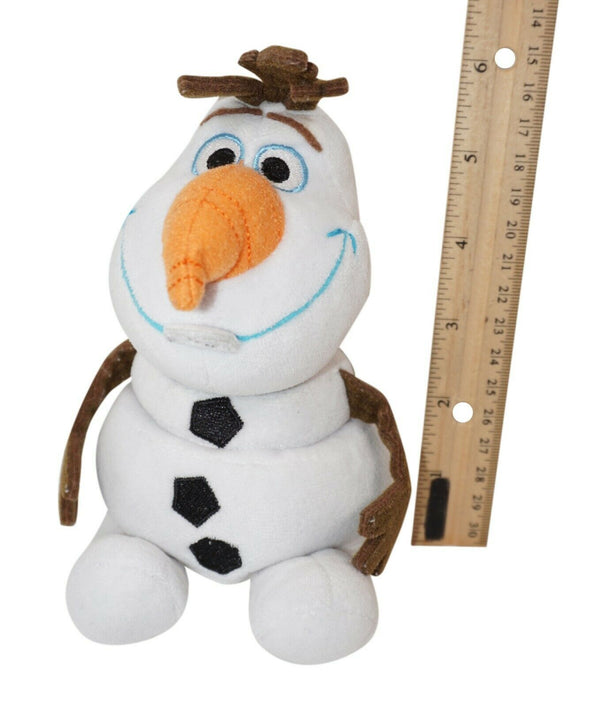 "Disney Frozen Olaf Snowman Plush Toy Mini Purse Coin Bag 5.5"" Figure - No Straps"