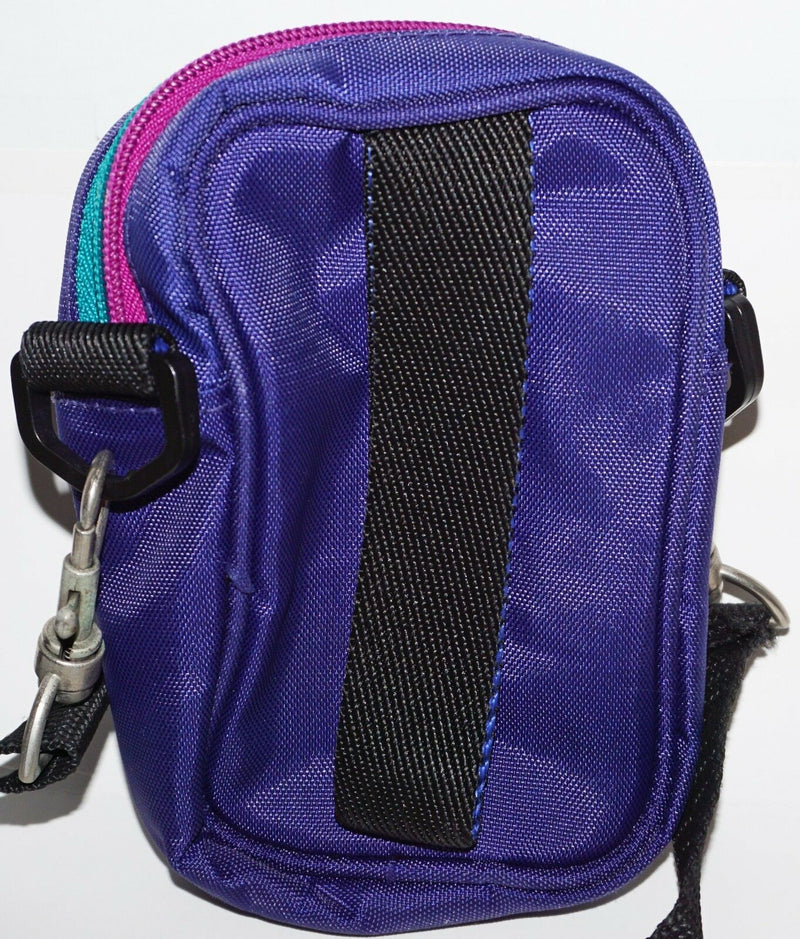 EMPTY PURPLE CAMERA CASE - OR SMALL SHOULDER TRAVEL BAG GENERIC USED-EZ Monster Deals