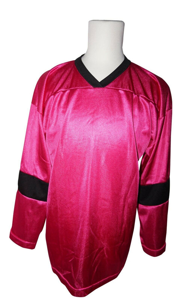 XTREME BASICS SR S HOCKEY DARK PINK JERSEY - ADULT SMALL ICE OR ROLLER USED - EZ Monster Deals