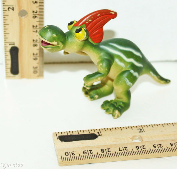 "RIOARRIBASAURUS CHARACTER ADVENTURE PLANET CARTOON DINOSAUR 2.5"" TOY FIGURE USED"