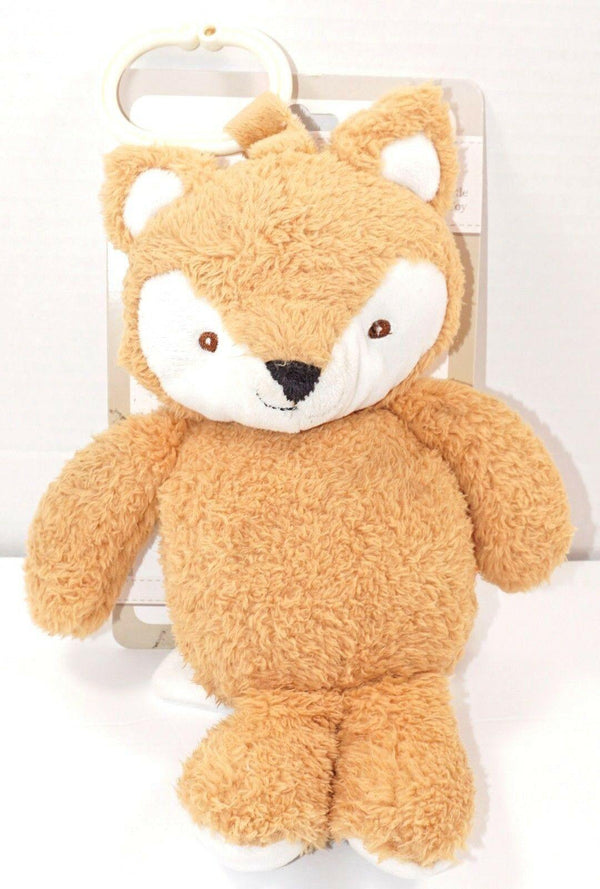 FOX PLUSH W/ RATTLE & LINK CLIP TOY - VERY SOFT KELLY TOYS STUFFED ANIMAL 2017 - EZ Monster Deals