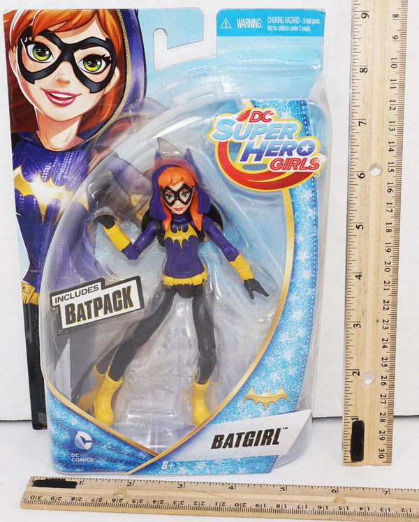 "BATGIRL W/ BATPACK - DC SUPER HERO GIRLS ACTION TOY 5.5"" FIGURE NEW 2015-EZ Monster Deals"