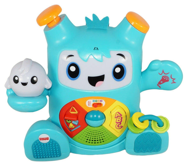 FISHER-PRICE - INTERACTIVE SOUNDING DANCE & GROOVE ROCKIT TOY USED 2018