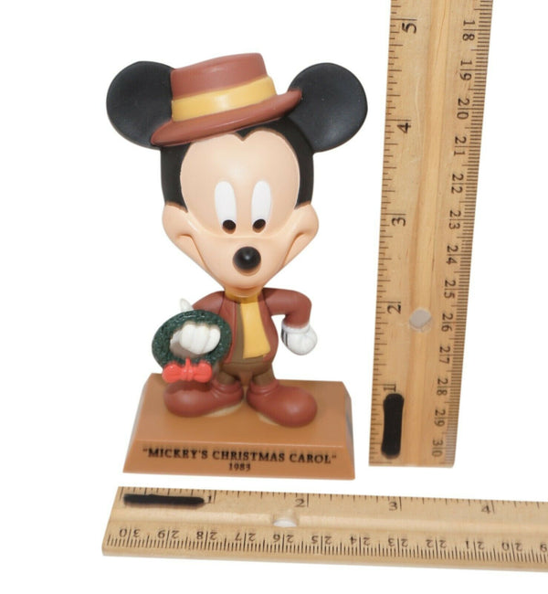 "Disney Mickey Mouse Mr Bob Cratchit - Christmas Carol 4.5"" Figure Upper Deck Toy"