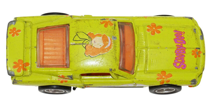 DAPHNE SCOOBY DOO DIECAST VINTAGE CAR 68 FORD MUSTANG RACING CHAMPIONS USED 2001-EZ Monster Deals