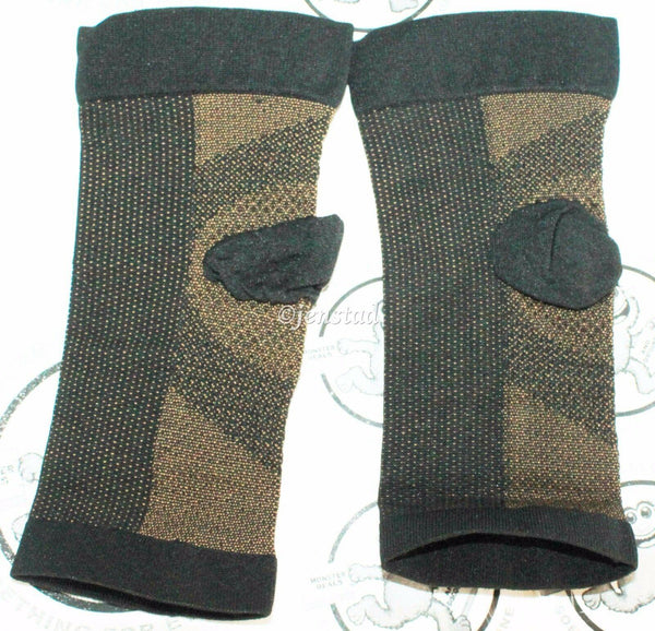 ANTI-FATIGUE COPPER INFUSED HEALING COMPRESSION ANKLE SLEEVE OR SUPPORT BRACE