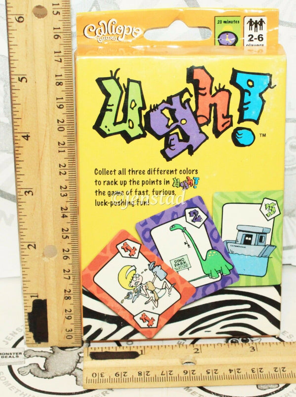 UGH PLAYING CARDS - DOUBLE DOMINO FUN CLASSIC TOY CALLIOPE GAMES 2011 NEW-EZ Monster Deals