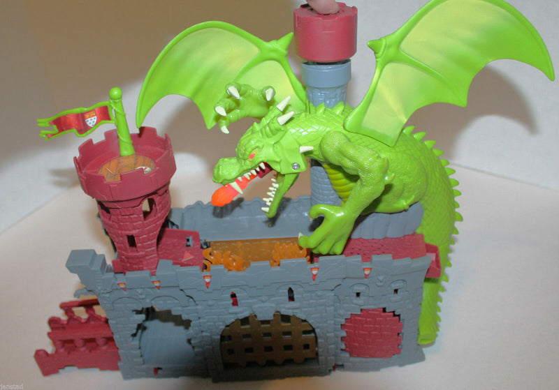 DRAGON'S CASTLE MATCHBOX PLAYSET ADVENTURE PLAY SET FOR CARS 'MISSING PIECES' - EZ Monster Deals