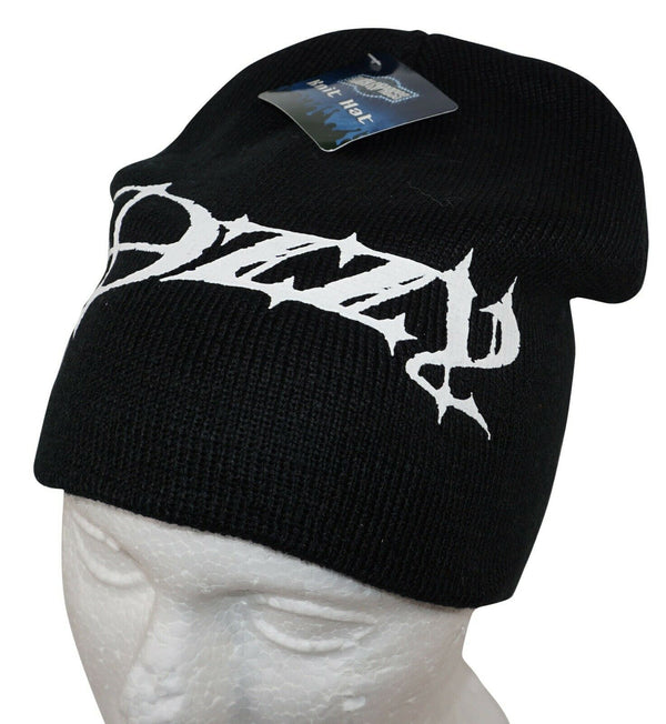 OZZY OSBOURNE ROCK STAR - KNIT BEANIE BLACK CAP HAT NEW 2010