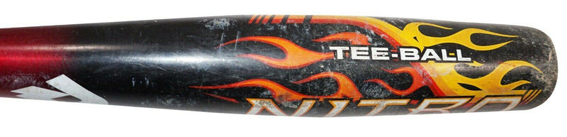 "DEMARINI NITRO ALLOY -10 YOUTH BASEBALL TEE 2 1/4"" BARREL BAT DXNTT 25"" LENGTH - EZ Monster Deals"