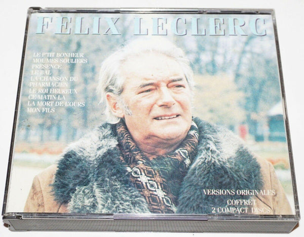 FÉLIX LECLERC - LE P'TIT BONHEUR UNIVERSAL POLYGRAM COMPACT DISC MUSIC CD 1991 - EZ Monster Deals