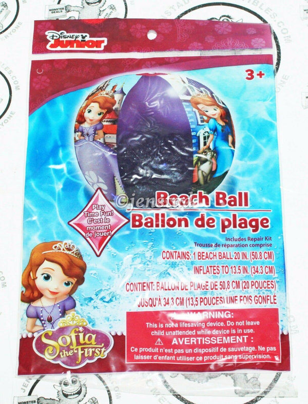 SOFIA THE FIRST - BEACH BALL DISNEY'S JUNIOR TV SERIES FOR POOL WATER BEACH NEW - EZ Monster Deals