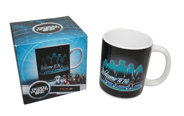 WELCOME TO THE OASIS READY PLAYER ONE - CERAMIC COFFEE MUG CUP GAMING MOVIE 2018 - EZ Monster Deals