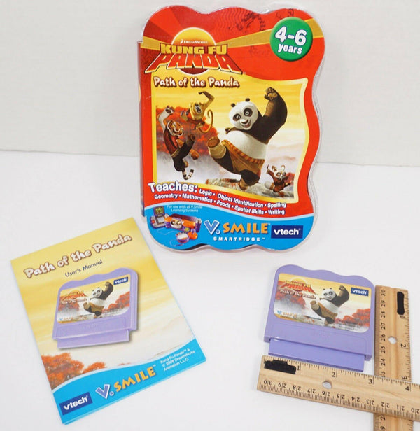 KUNG FU - PATH OF THE PANDA FOR VTECH V.SMILE EDUCATIONAL GAME CARTRIDGE 2008 - EZ Monster Deals