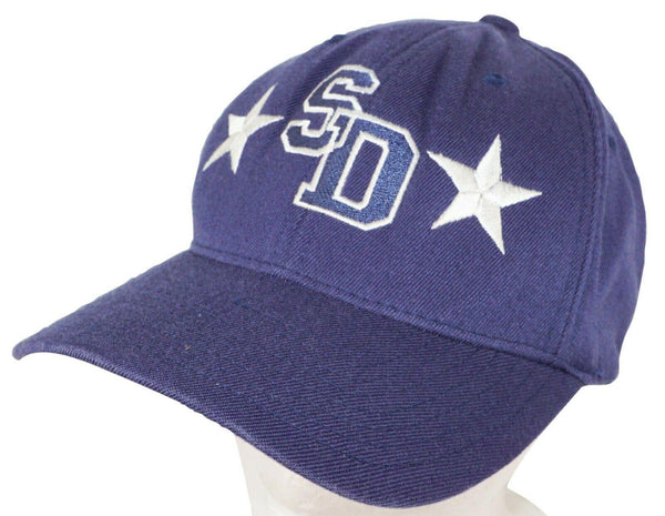 SAN DIMAS SAINTS CALIFORNIA HIGH SCHOOL SD ALL STARS BLUE  VINTAGE HAT 2006 USED - EZ Monster Deals