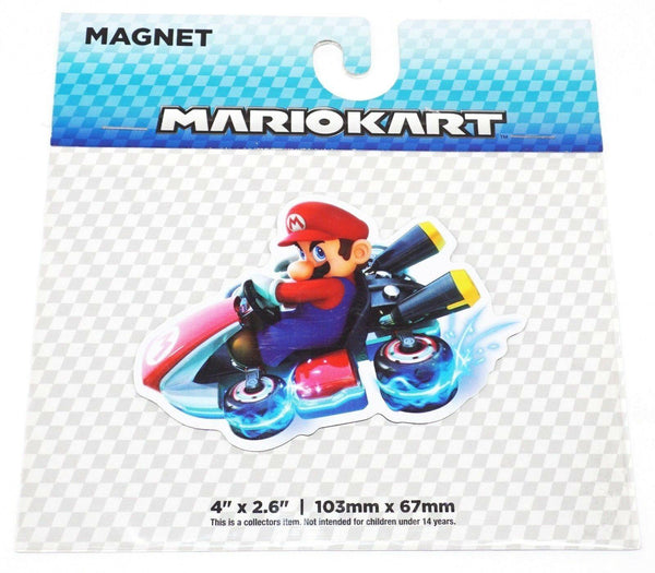 "MARIO KART 4"" X 2.6"" MAGNET TOY OFFICIAL NINTENDO SUPER MARIO GAME SERIES 2017-EZ Monster Deals"