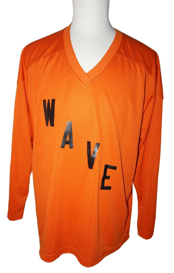 TRON SR M HOCKEY ORANGE WAVE JERSEY #88 - ADULT MEDIUM ICE OR ROLLER USED - EZ Monster Deals