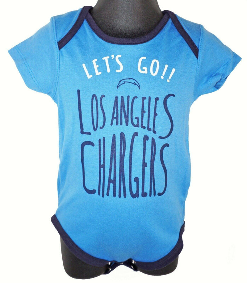 LOS ANGELES LA CHARGERS BABY SUIT - NFL 1-PC BLUE OUTFIT FOOTBALL 24 MTH NEW - EZ Monster Deals