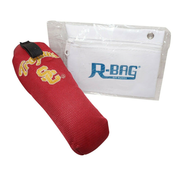 USC TROJANS UNIVERSITY SOUTHERN CALIFORNIA USED PUTTER GOLF COVER & R-BAG POUCH - EZ Monster Deals