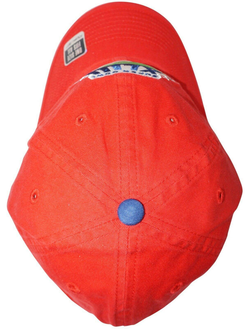 SUPER BOWL XLIII RED HAT - STEELERS CARDINALS NFL FOOTBALL VINTAGE CAP NEW 2009 - EZ Monster Deals