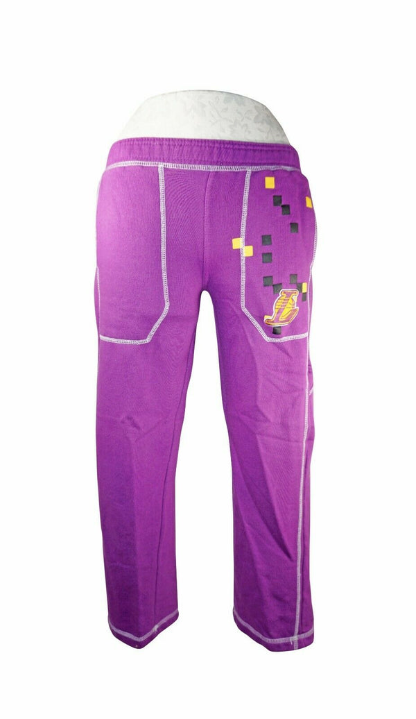 Los Angeles LA Lakers NBA Basketball Pants - Womens M Zipway Sweatpants Medium