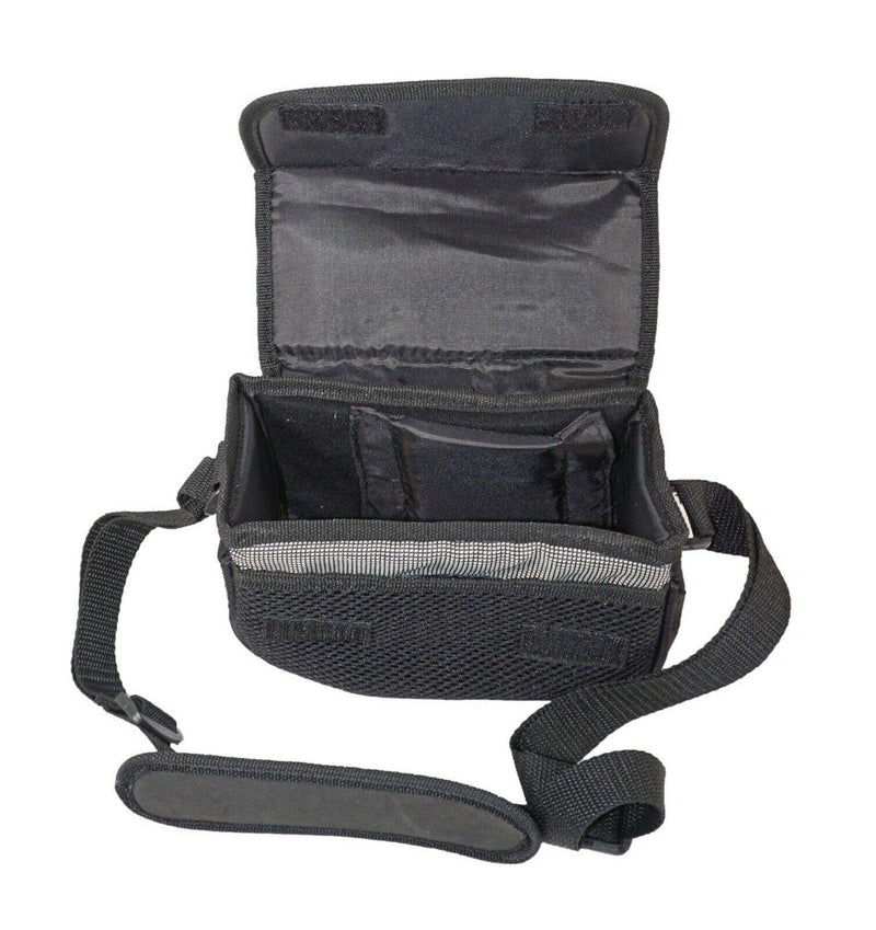 "JVC CAMCORDER CAMERA BAG PADDED SOFT CASE BLACK + SHOULDER STRAP 8""x3.5"" NEW - EZ Monster Deals"
