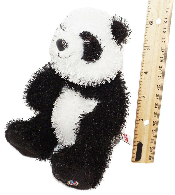 "LIL' KINZ WEBKINZ FURRY PANDA - PLUSH TOY 5"" FIGURE USED HM111 'NO CODE' - EZ Monster Deals"