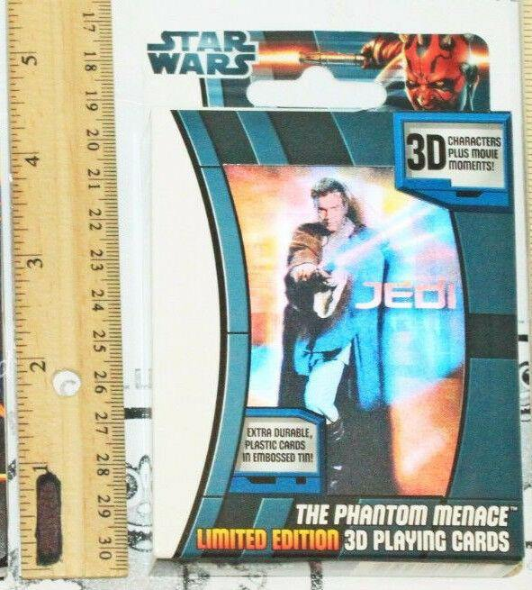 STAR WARS THE PHANTOM MENACE HEROES & VILLAINS TOY PLAYING CARDS NEW 2012-EZ Monster Deals