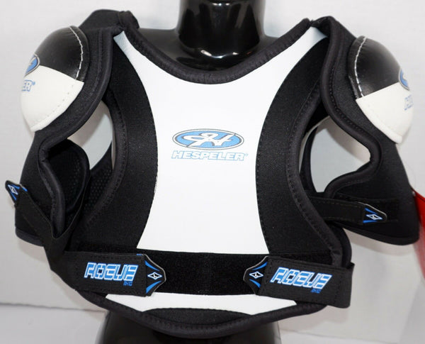 "HESPELER ROGUE RX10 YOUTH LARGE - ICE ROLLER HOCKEY SHOULDER PADS 24""-28"" NEW"