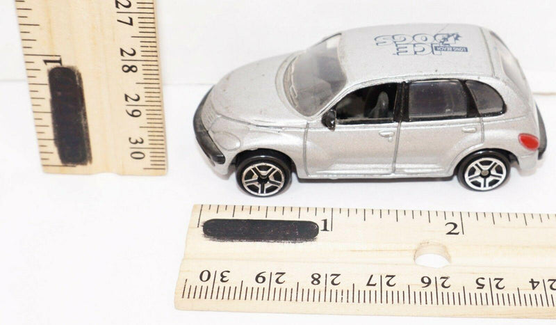 "PT CRUISER VEHICLE 2.75"" TOY CAR - LONG BEACH ICE DOGS MINOR LEAGUE HOCKEY USED - EZ Monster Deals"