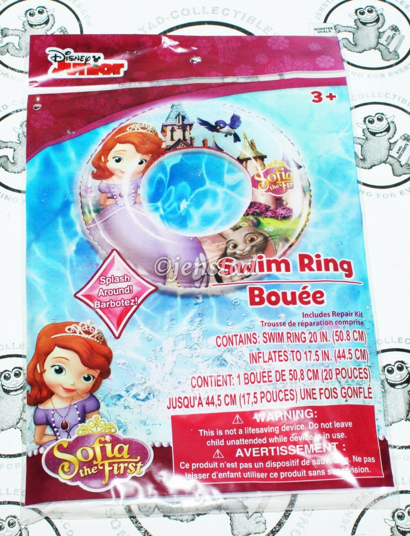SOFIA THE FIRST - DISNEY'S JUNIOR TV SERIES SWIM RING FOR POOL WATER BEACH NEW