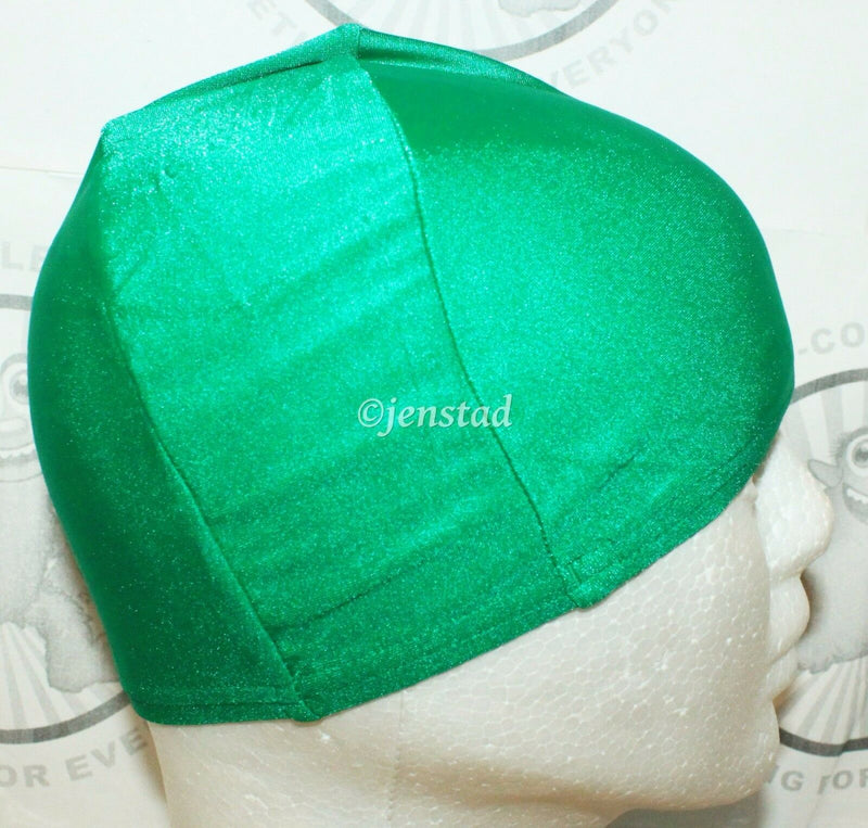 SPEEDO LYCRA SWIM STRETCH CAP KELLY GREEN SWIMMING SUN PROTECTION SWIMWEAR NEW-EZ Monster Deals