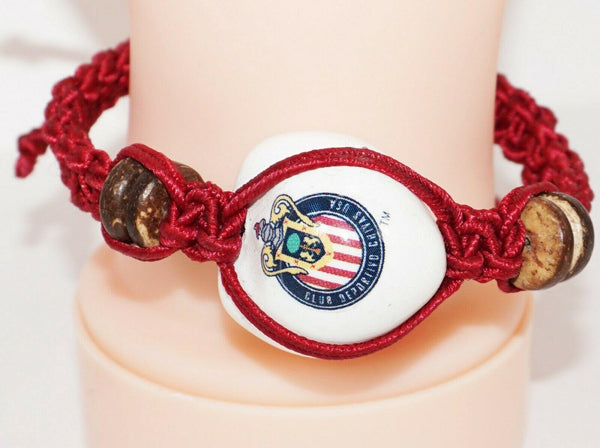 CLUB DEPORTIVO CHIVAS USA MLS SINGLE KUKUI NUT BRAID BRACELET SOCCER FUTBOL NEW - EZ Monster Deals