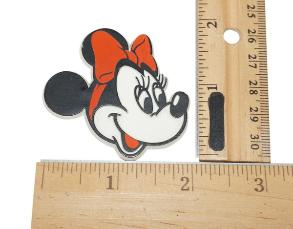 "Vintage Disney Minnie Mouse Head Figure - 1.75"" Magnet 80s/90s"