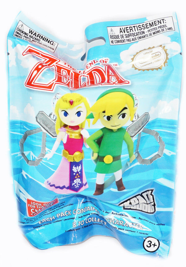 THE LEGEND OF ZELDA BLIND BAG - RANDOM TOY FIGURE BACKPACK CLIP KEYCHAIN 2016 - EZ Monster Deals
