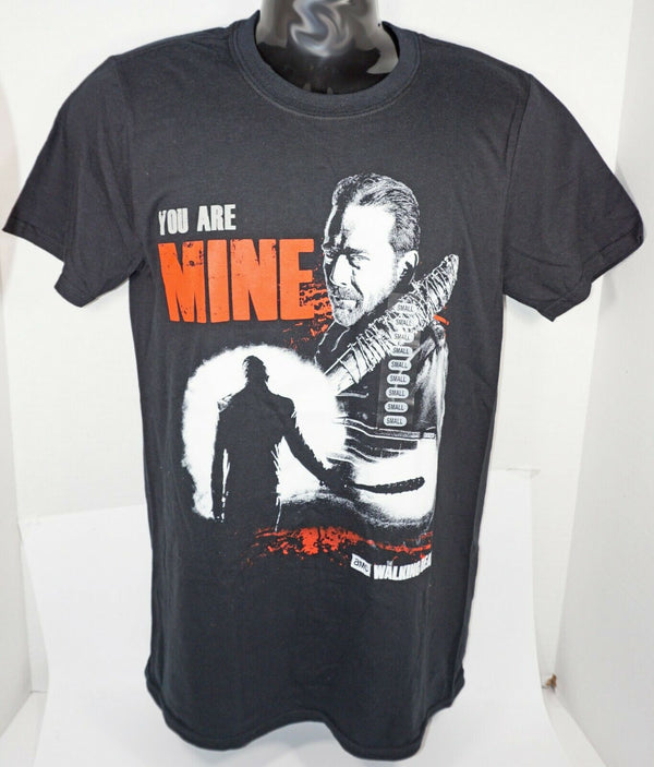 THE WALKING DEAD NEGAN YOU ARE MINE - FROM AMC TV BLACK MEN S SHIRT SMALL 2017 - EZ Monster Deals