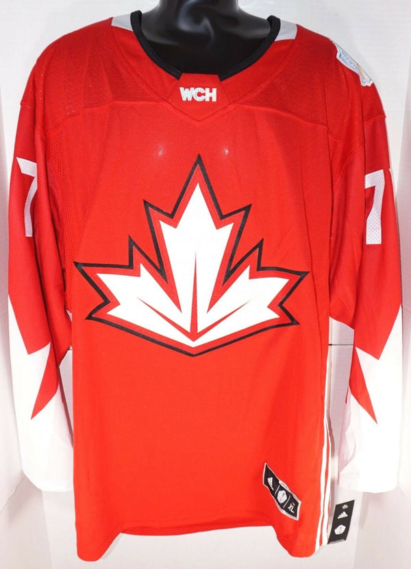 JEFF CARTER 77 ADIDAS PREMIER JERSEY XL - WORLD CUP HOCKEY AUTHENTIC XLARGE 2016-EZ Monster Deals