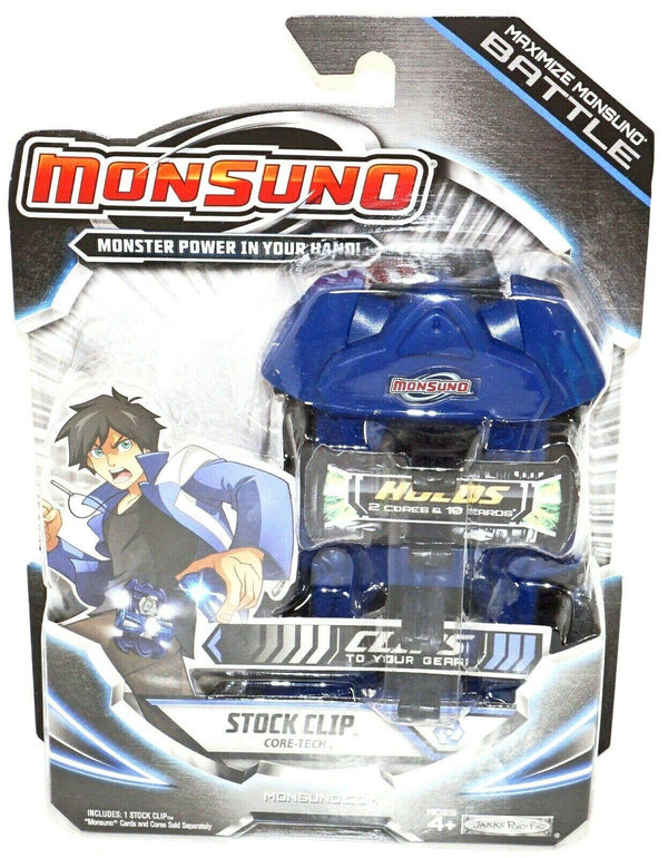 "MAXIMIZE MONSUNO BATTLE STOCK 5"" TOY CLIP ACCESSORY - CORE-TECH BLUE BLACK 2012-EZ Monster Deals"