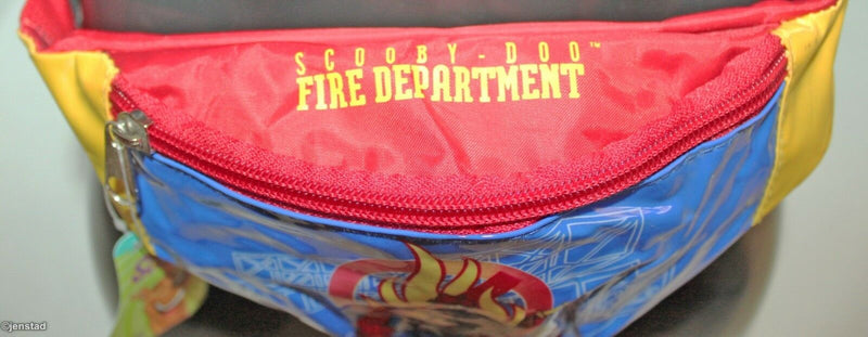 SCOOBY DOO FIRE DEPARTMENT CARTOON NETWORK FANNY WAIST PACK HIP ORGANIZER 2005-EZ Monster Deals
