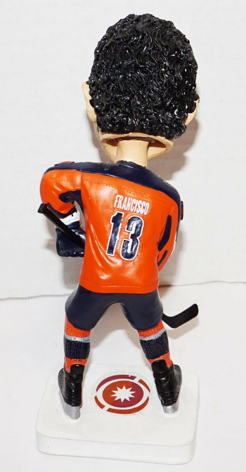 "JON FRANCISCO 6.5"" FIGURE ONTARIO REIGN HOCKEY BOBBLEHEAD FIGURINE USED - NO BOX - EZ Monster Deals"