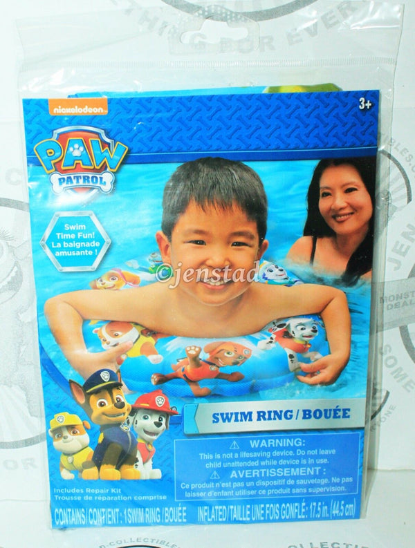 PAW PATROL SWIM RING - FROM NICKELODEON TV SERIES FOR POOL WATER BEACH NEW - EZ Monster Deals