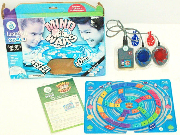LEAP PAD LEAP FROG - MIND WARS INTERACTIVE GAME 3RD-5TH GRADE & UP EDUCATIONAL - EZ Monster Deals