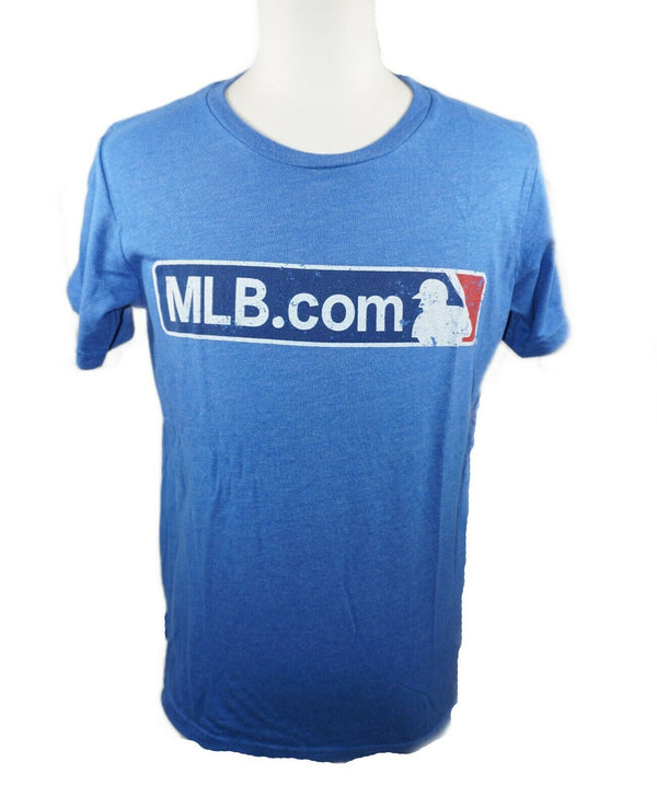 MLB Baseball T-Shirt dot.com - Promo Tee Mens Blue Shirt Small