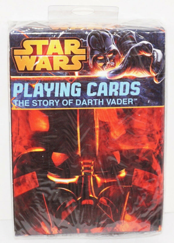 THE STORY OF DARTH VADER DISNEY STAR WARS VILLAIN PLAYING CARDS CARTAMUNDI 2014 - EZ Monster Deals
