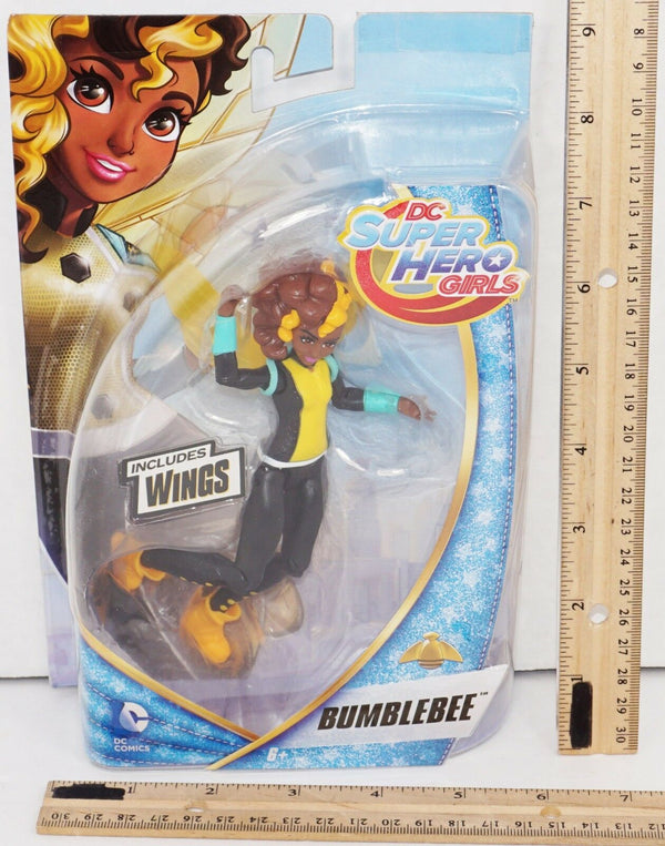 "BUMBLEBEE WITH WINGS - DC SUPER HERO GIRLS ACTION TOY 5.5"" FIGURE NEW 2015"