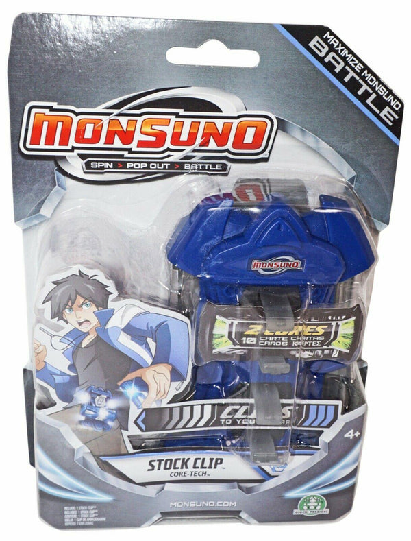 "MAXIMIZE MONSUNO BATTLE STOCK 5"" TOY CLIP ACCESSORY - CORE-TECH BLUE GRAY 2012-EZ Monster Deals"
